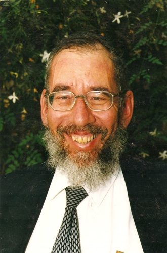 Shloshim for Reb Meir Schuster, Man at the Wall